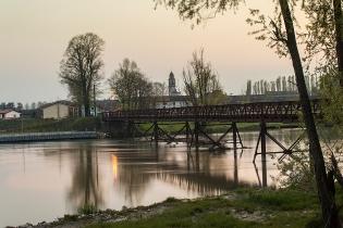 Ponte dei Martiri, Isola Dovarese (CR) foto di Pierangelo Lusvardi