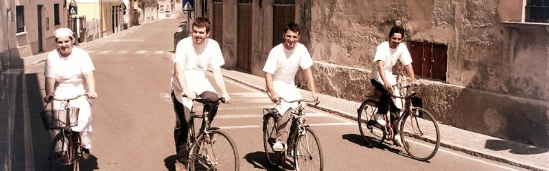 Cuochi di biciclette