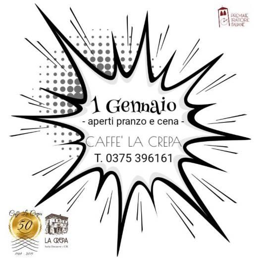 Buon Anno 2020 Caffe La Crepa APERTO ORARI